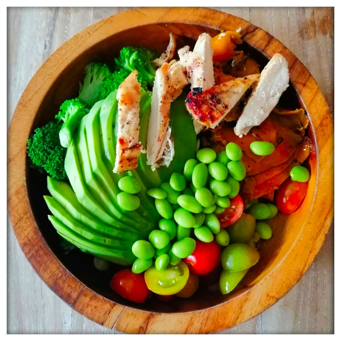 assiette de nourriture healthy